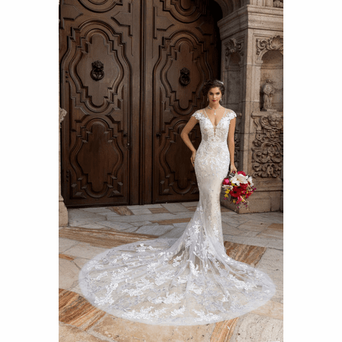 Kitty Chen Wedding Dress - <br> Gemma