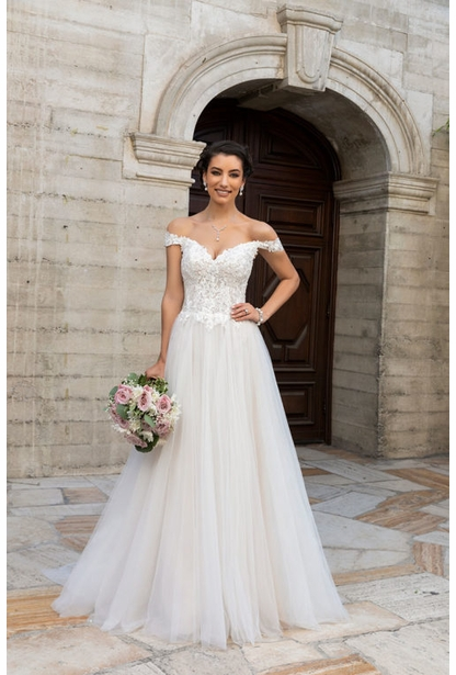 Kitty Chen Wedding Dress - <br> Hannah