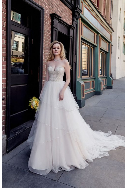 Kitty Chen Wedding Dress-Heidi Marke