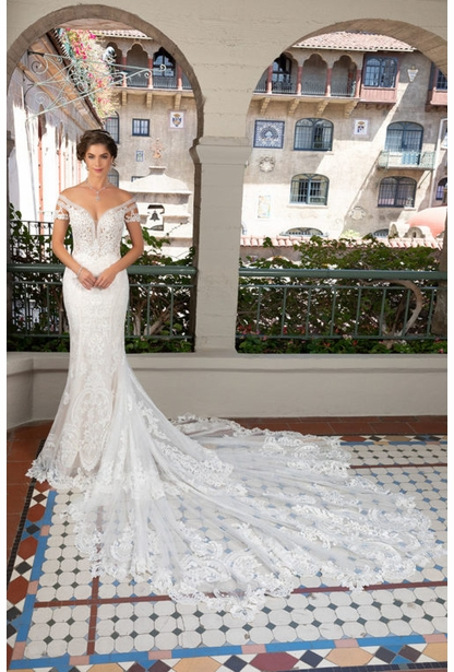 Kitty Chen Wedding Dress - <br> Holly