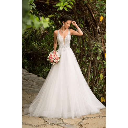 Kitty Chen Wedding Dress - <br> Leilani