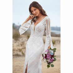 Kitty Chen Wedding Dress - <br> Lulu