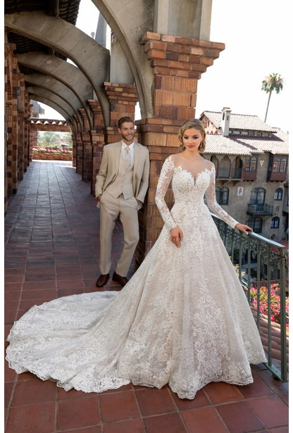 Kitty Chen Wedding Dress - <br> Margo