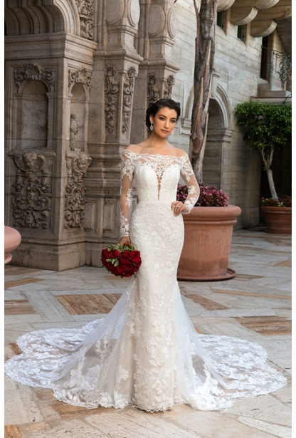 Kitty Chen Wedding Dress - <br> Monair