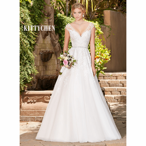 Kitty Chen Wedding Dress – Rebecca
