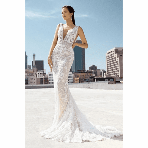 Kitty Chen Wedding Dress - <br>SAMPLE Kylie