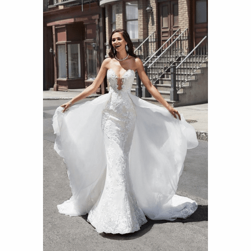 Kitty Chen Wedding Dress Separate – Jessie (train)