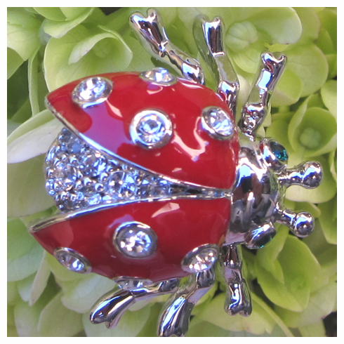 Lady Bug Bouquet Jewel