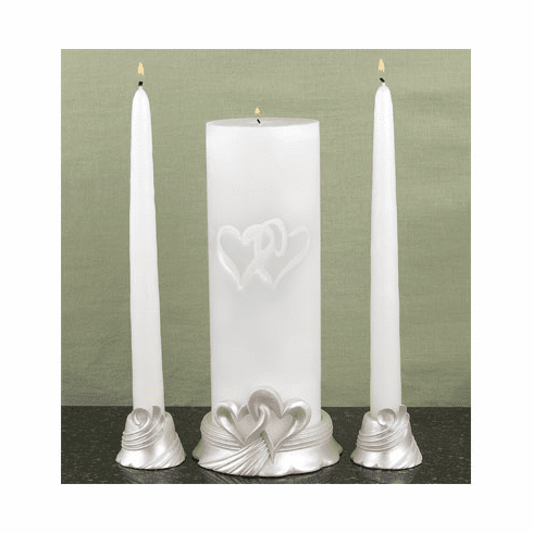 Linked at the Heart Unity Candle