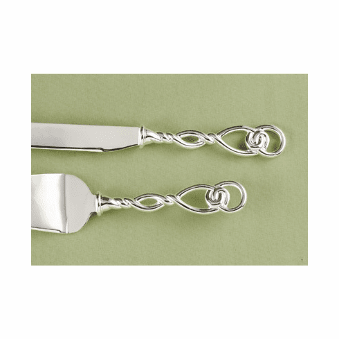 Love Knot Cake Cutter and Serving Set
