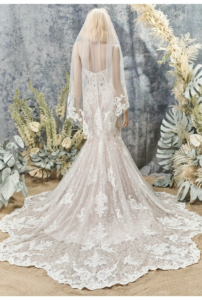 Maggie Sottero Veil- <br> Tuscany Marie