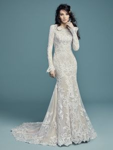Maggie Sottero Wedding Dress – HAILEY LYNETTE