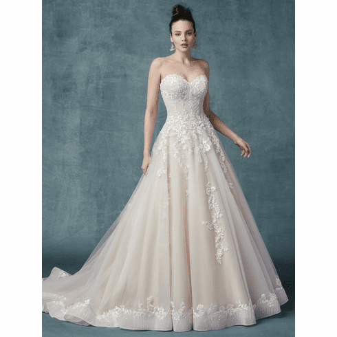 Maggie Sottero Wedding Dress -   <br>ZINAIDA