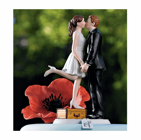 *NEW* A Kiss and We're Off! Figurine