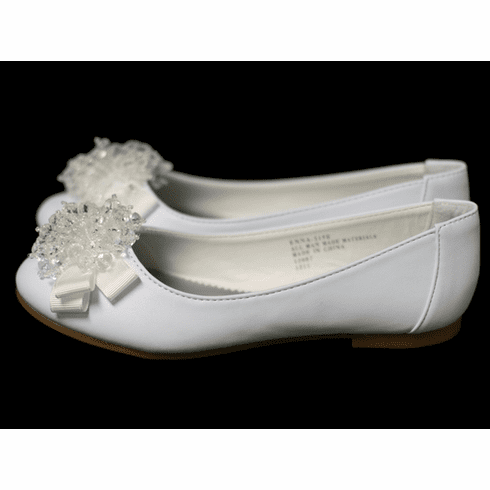 *NEW* Kids Flats w/Pearl Bow