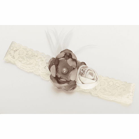*NEW*  Vintage Lace Garter with Color Options