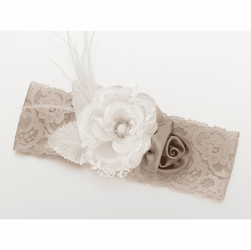 *NEW* Vintage Lace Wide Garter with Color Options