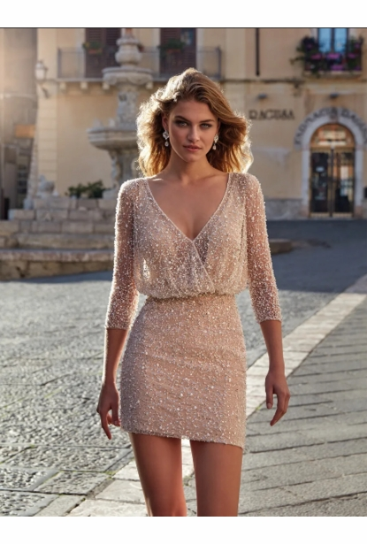 Nicole Milano Couture Wedding  Collection - <br> NC12134