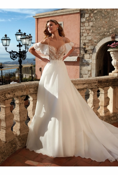 Nicole Milano Couture Wedding  Collection - <br> NC12135