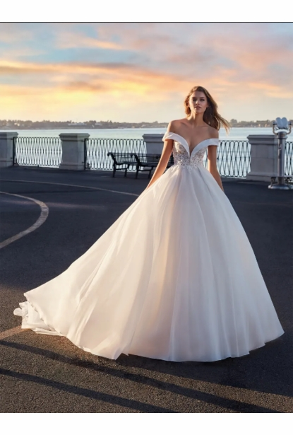 Nicole Milano Couture Wedding  Collection - <br> NC12136