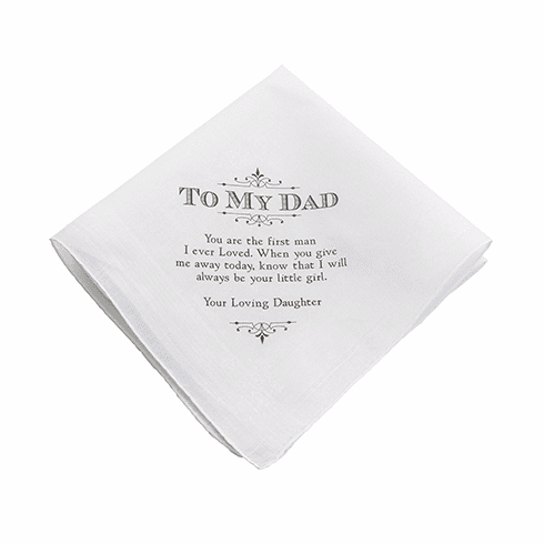Personalized Dad Hankie