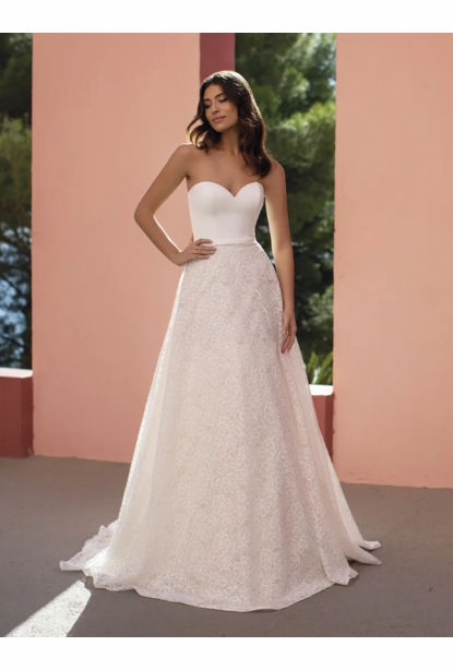 Pronovias White One Dress - <br> Butterfly
