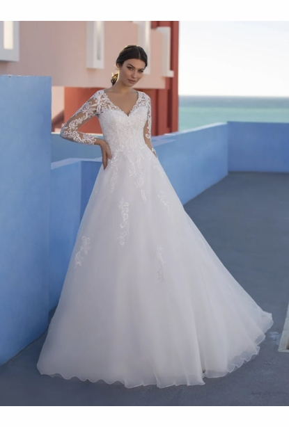 Pronovias White One Dress - <br> Gilia