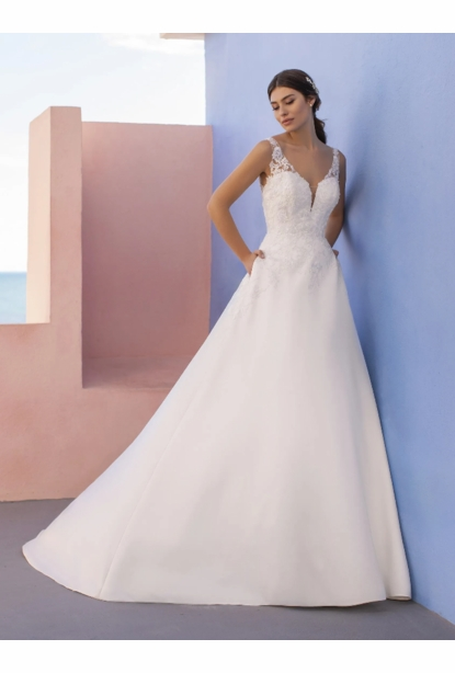 Pronovias White One Dress - <br> Gleam