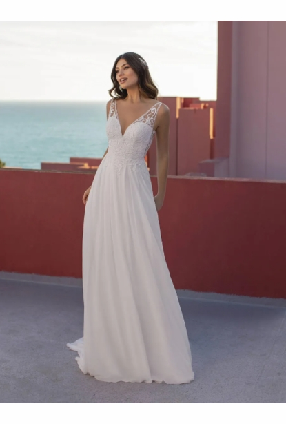 Pronovias White One Dress - <br> Opium