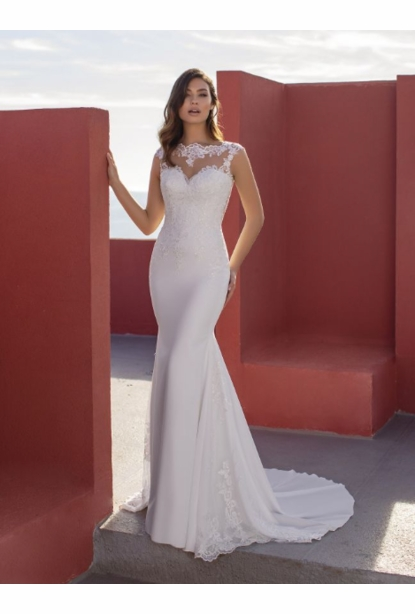 Pronovias White One Dress - <br> Petunia