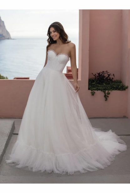 Pronovias White One Dress - <br> Pixie