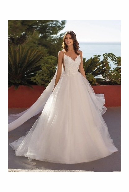 Pronovias White One Dress - <br> Waterleaf