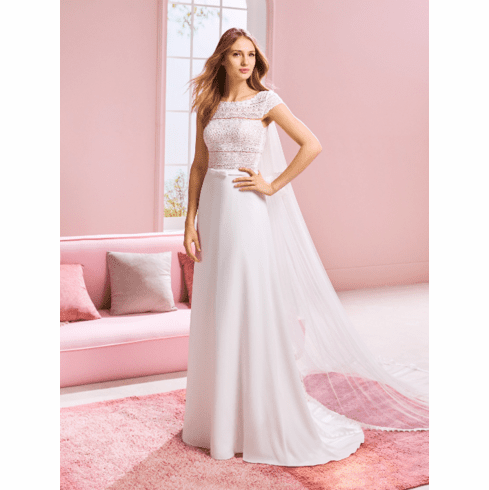 Pronovias White One Wedding Dress - Ariana