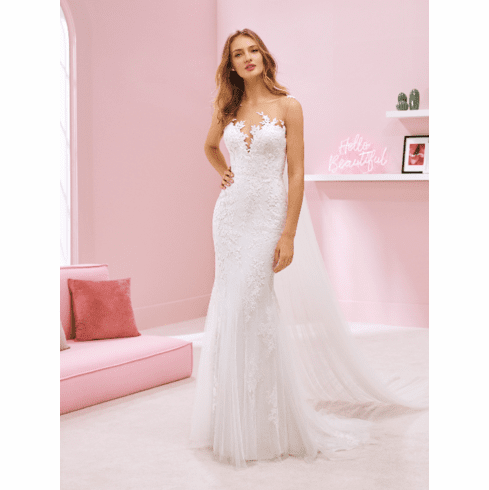 Pronovias White One Wedding Dress - BRITNEY