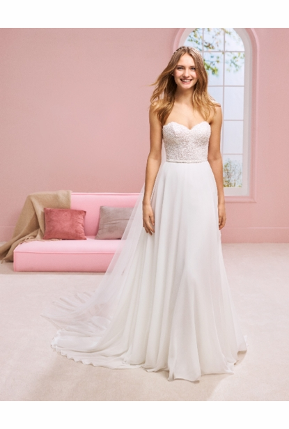 Pronovias White One Wedding Dress - HALSEY