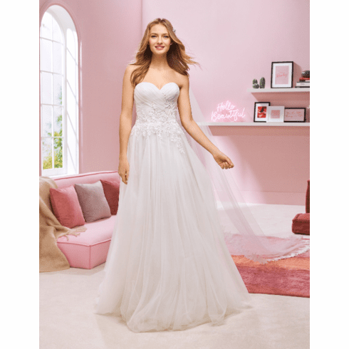 Pronovias White One Wedding Dress - KARA