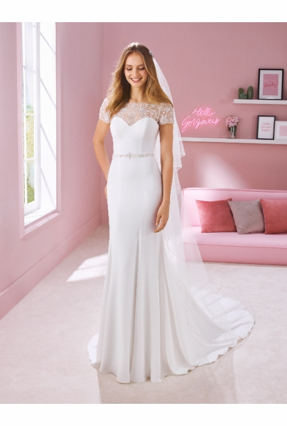 Pronovias White One Wedding Dress - KERI