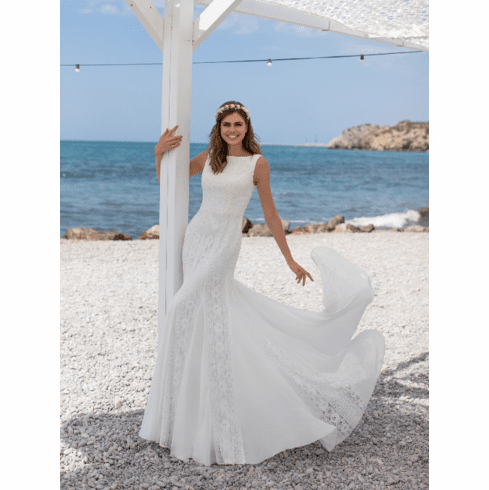 Pronovias White One Wedding Dress - LELE