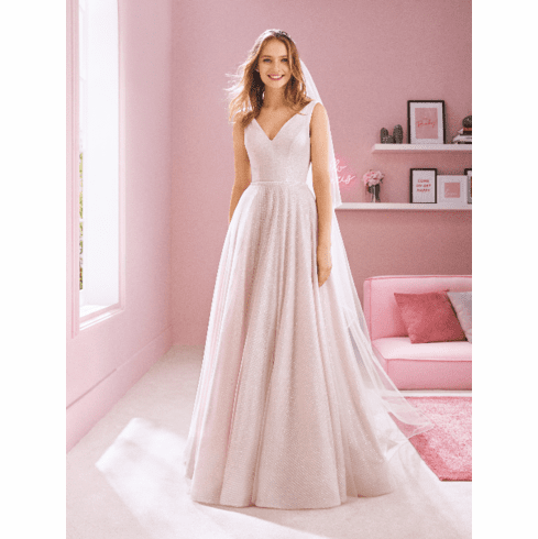 Pronovias White One Wedding Dress - NINA