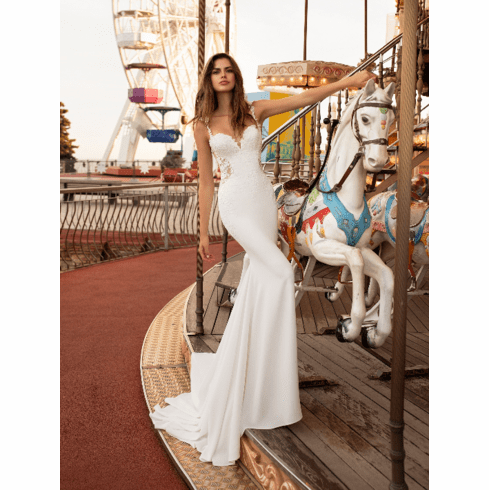 Pronovias White One Wedding Dress - Okapi