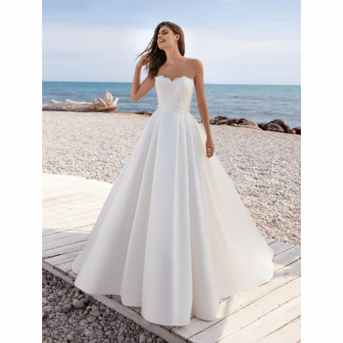 Pronovias White One Wedding Dress - TANA