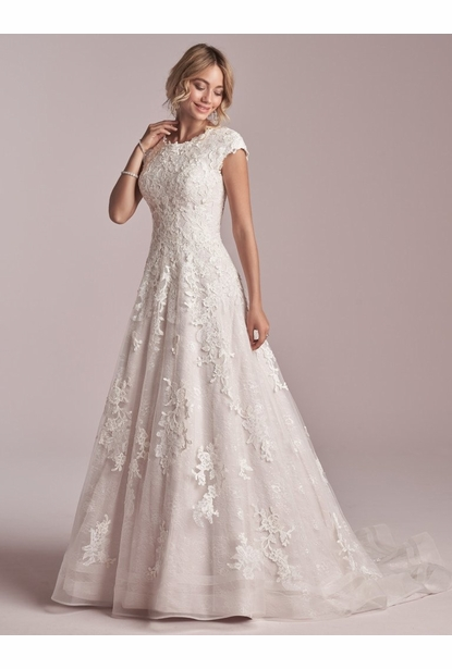 Rebecca Ingram Wedding Dress - <br> Courtney Leigh
