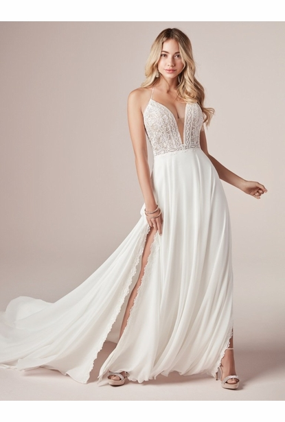 Rebecca Ingram Wedding Dress - <br> NICOLE