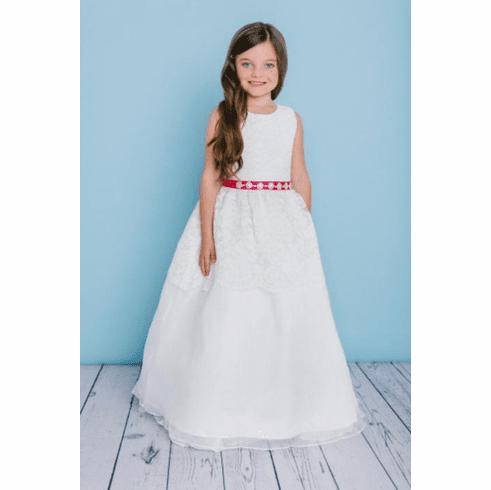 Rosebud Fashions Flower Girl Dress 5125
