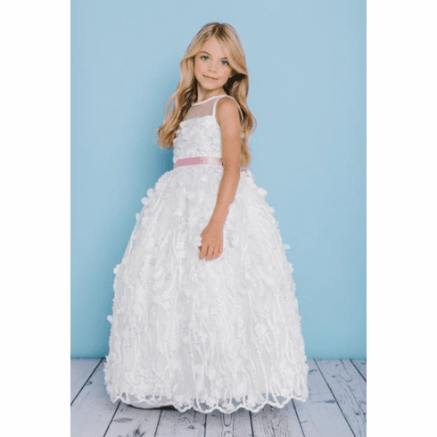 Rosebud Fashions Flower Girl Dress 5133