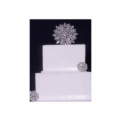 Snowflake Cake Top by Expressions Cake Jewelry