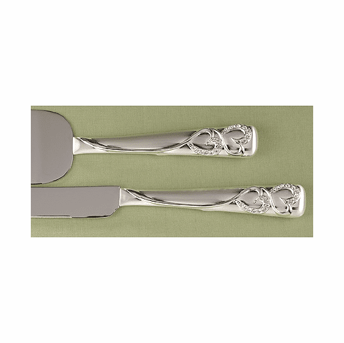 Sparkling Love Cake Cutter and Serving Set