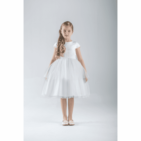 Us Angels Carolyn Ballerina Flower Girl Dress Style 671