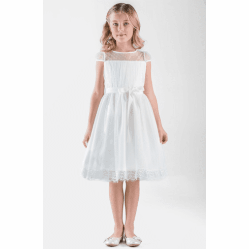 Us Angels Christy Flower Girl Dress Style 676