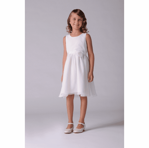 US Angels Flower Girl Calla Lily Dress Style 107
